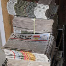 Zviazaný starý papier