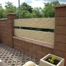 Murovane ploty z betónu